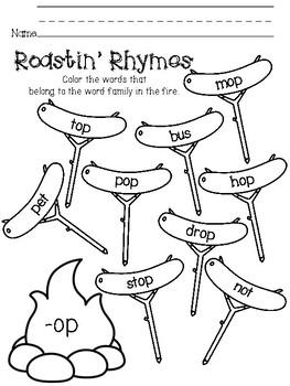NO PREP Rhyming Practice