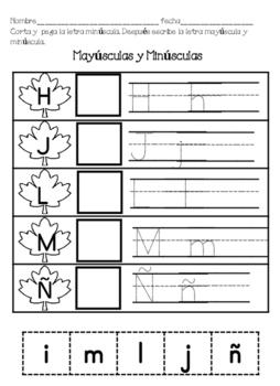 NO PREP SPANISH LITERACY PACKET Paquete de Lectura sobre Otono
