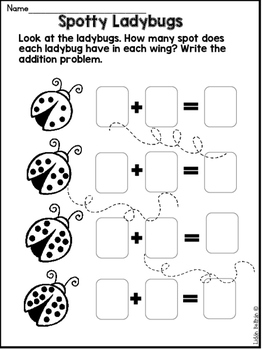 Spring NO PREP Packet- Kindergarten