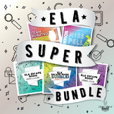 ELA NO PREP SUPER BUNDLE - Escape Rooms ELA Grammar, Spell