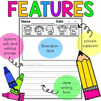 NO PREP Science Writing Journal - Senses and Scientists