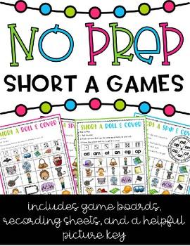 NO PREP Short A Games