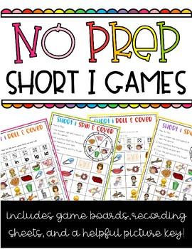 NO PREP Short I Games