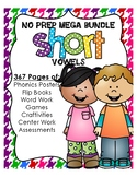 NO PREP Short Vowel MEGA Bundle (all vowel families included!)
