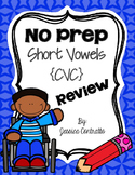 NO PREP Short Vowel Review {CVC}