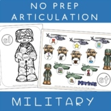 NO PREP Speech Articulation Therapy MILITARY - Memorial Day