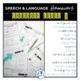 NO PREP Speech and Language Homework - FULL Year - Language BUNDLE