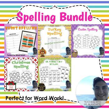 NO PREP Spelling Bundle
