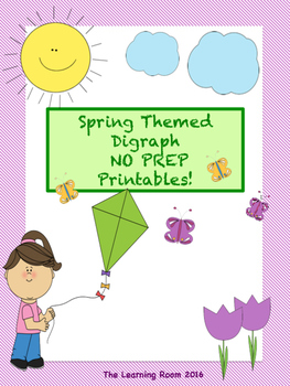 NO PREP - Spring Themed Digraph Printables