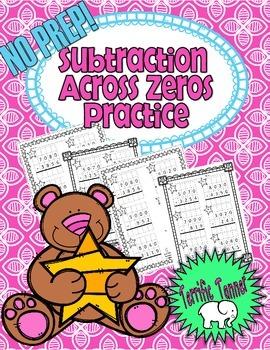 NO PREP Subtraction Across Zeros