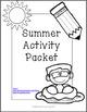 NO PREP Summer Activity Packet!