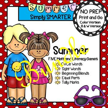 NO PREP Summer Games Bundle