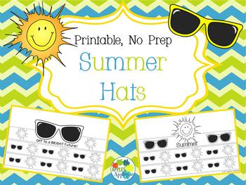 NO PREP Summer Hats