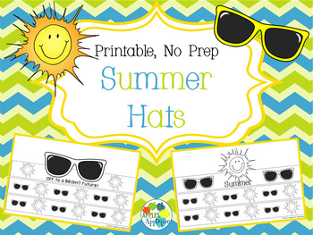 NO PREP Summer Hats
