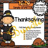 NO PREP Thanksgiving Games Bundle