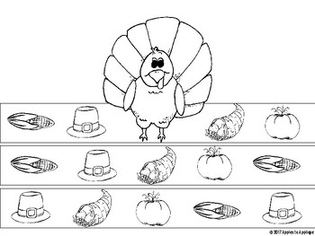 Thanksgiving Hats - NO PREP