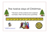 NO PREP: The Twelve Days Of Christmas (Ordinal & Cardinal Numbers Revision)