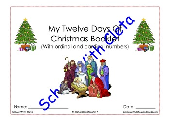 NO PREP: The Twelve Days Of Christmas (Ordinal & Cardinal Numbers Revision)