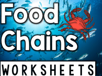 Foods Chains Worksheets & Printables