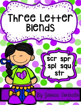 NO PREP Three Letter Blends