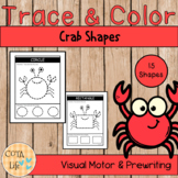 NO PREP Trace and Color Crab Shapes