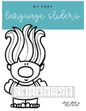 NO PREP Troll Language Sliders: NO PREP Speech Therapy Activity