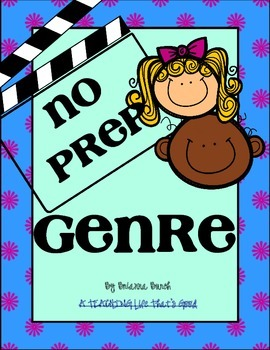 NO PREP- Upper Elementary GENRE
