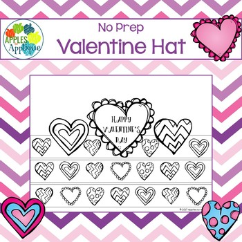 Valentine's Day Hat - NO PREP
