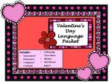 NO PREP Valentine's Day Language Packet