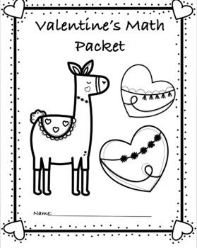 NO-PREP Valentine's Day Math Packet