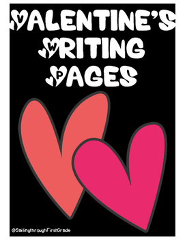 NO PREP Valentine's Day Writing Pages