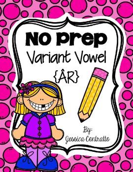 NO PREP Variant Vowel AR {air}