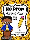 NO PREP Variant Vowel AW