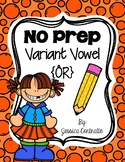 NO PREP Variant Vowel OR {controlled r}