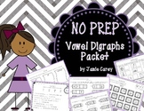 NO PREP Vowel Digraphs Packet