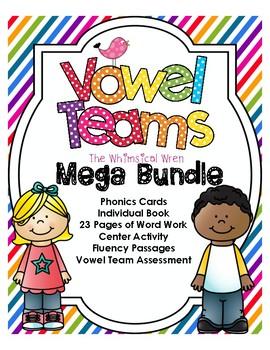 NO PREP Vowel Teams Mega Bundle