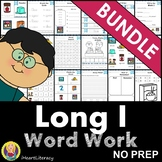 Word Work Long I Bundle NO PREP