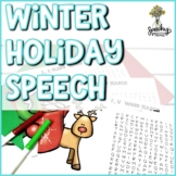 NO PREP Winter & Christmas Articulation : Speech Therapy Resource
