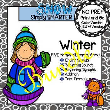 NO PREP Winter Games Bundle