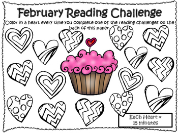 NO PREP Winter Reading Challenges!