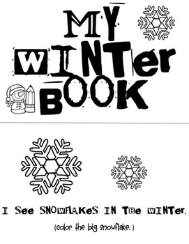 NO PREP Winter Speech and Language Activity Pack