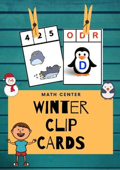 Winter Theme NO PREP Math & Literacy Bundle