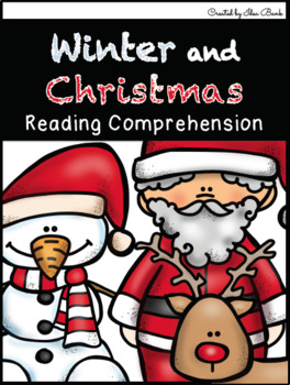 NO PREP Winter and Christmas Reading Comprehension