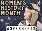 Women's History Month Worksheets & Printables