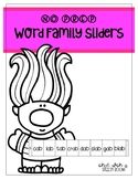NO PREP Troll Word Family Sliders