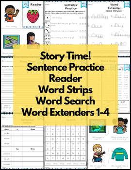 Word Work Consonant Blends Mega Bundle NO PREP
