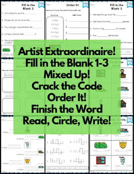 Word Work Digraph and Trigraph Bundle NO PREP