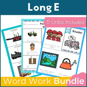 Word Work Long E Bundle NO PREP