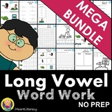Word Work Long Vowel Mega Bundle NO PREP