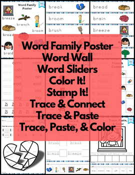 Word Work R Blends Bundle Consonant Blends NO PREP